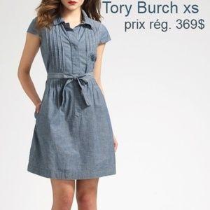 NWOT tory Burch dress size 2 blue